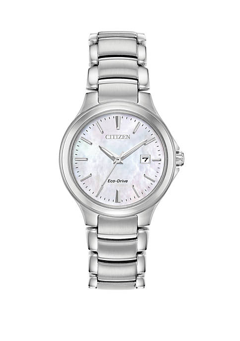 Citizen Stainless Steel Eco-Drive Womens Chandler Bracelet Watch