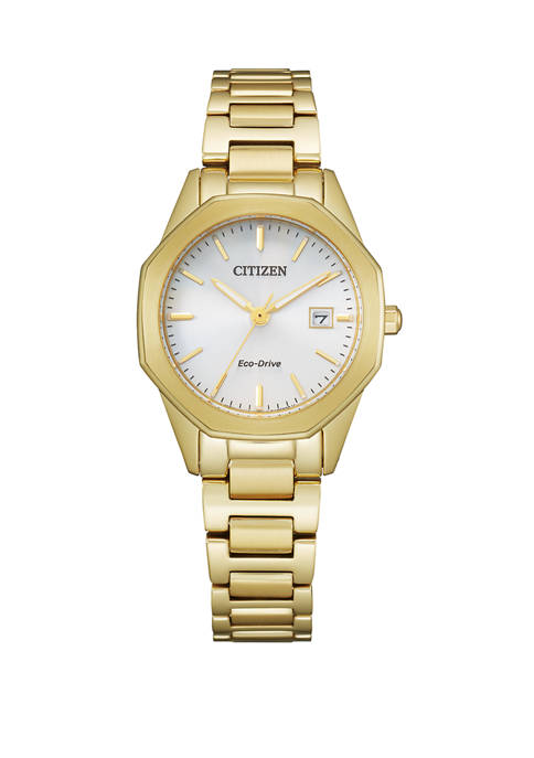 Citizen Eco Drive Corso Gold Tone Bracelet Watch
