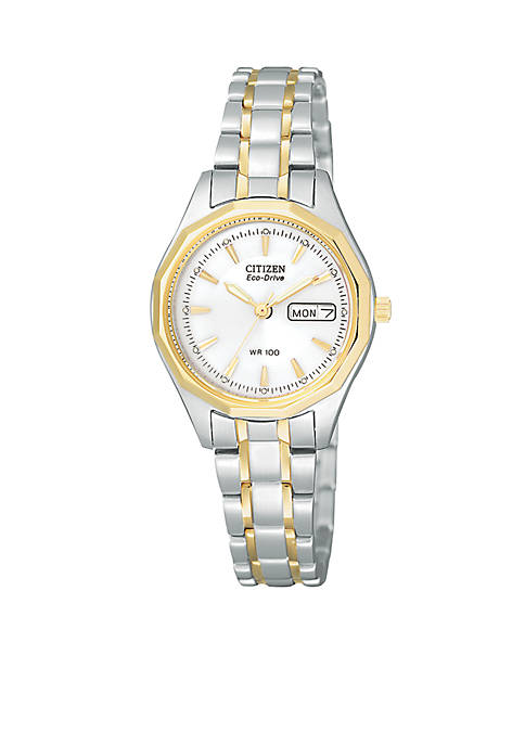 Citizen Womens Eco-Drive Two-Tone Sport Watch