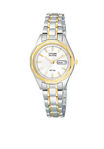 Women's Eco-Drive Two-Tone Sport Watch