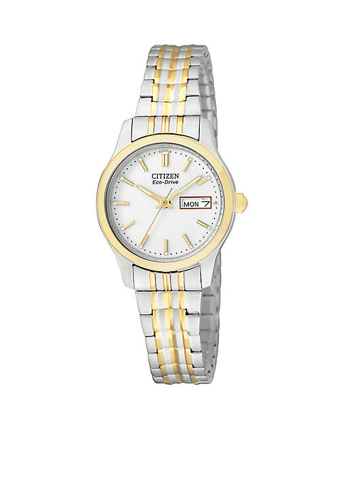 Citizen Eco-Drive Womens Two-Tone Watch