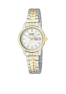 Eco-Drive Women's Two-Tone Watch