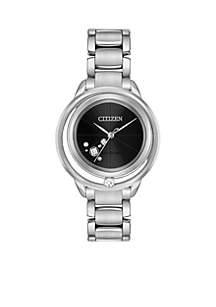 Women's Stainless Steel Eco-Drive Bracelet Watch