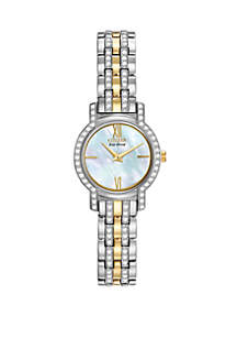 Women's Eco-Drive Silhouette Crystal Watch