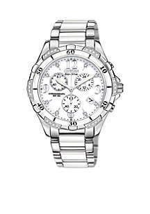 Eco-Drive Ladies' Ceramic Chronograph