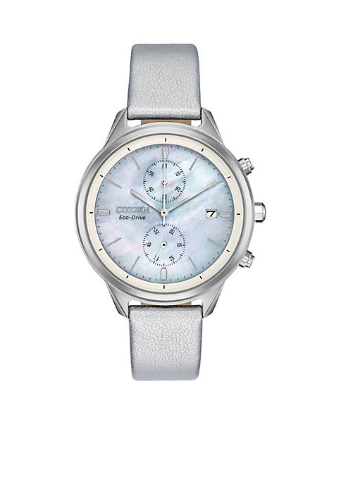 Eco-Drive Chandler Chronograph Silver-tone Watch