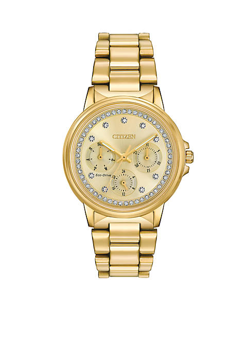 Citizen Womens Silhouette Crystal Eco-Drive Watch