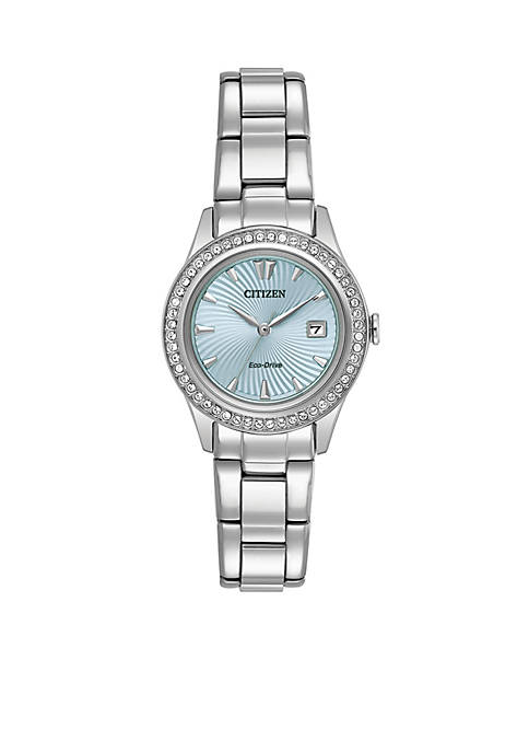 Citizen Silhouette Stainless Steel Eco-Drive Bracelet Watch