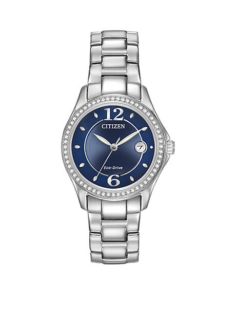 Citizen Womens Stainless Steel Eco-Drive Swarovski