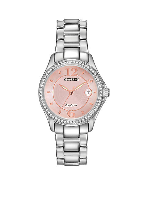 Citizen Stainless Steel Eco-Drive Bracelet Watch