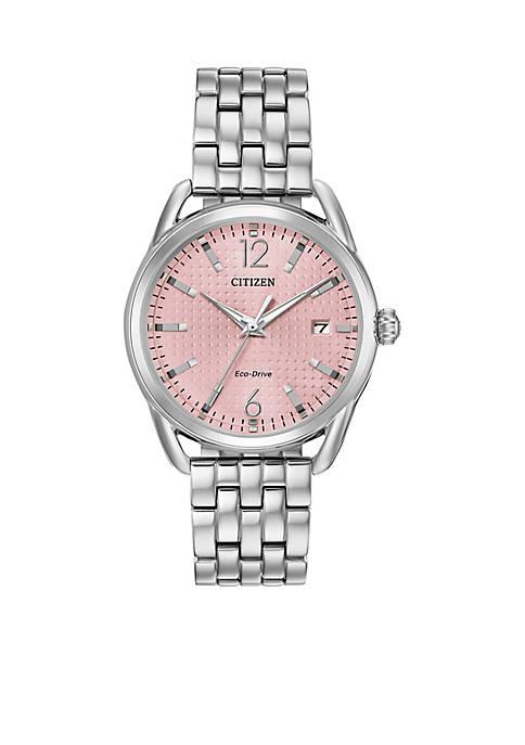 Citizen Womens Stainless Steel Drive Eco-Drive Bracelet Watch