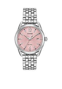 Women's Stainless Steel Drive Eco-Drive Bracelet Watch