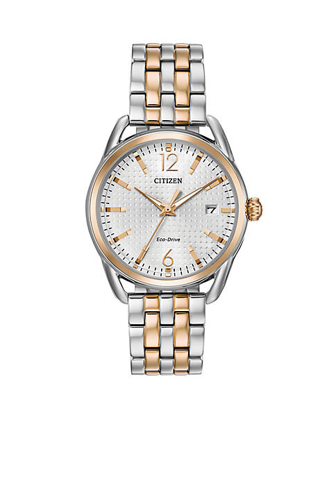 Citizen Womens Two-Tone Stainless Steel Eco Relationship Bracelet