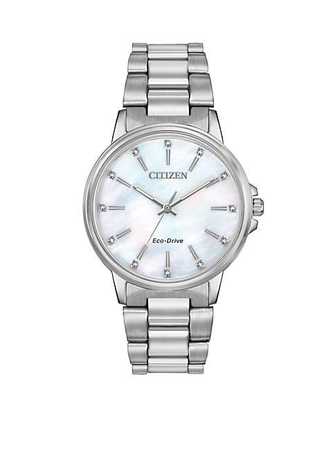 Citizen Chandler Silver-tone Stainless Steel Watch