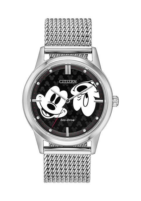Citizen Mickey Vintage Classic Double Face Bracelet Watch