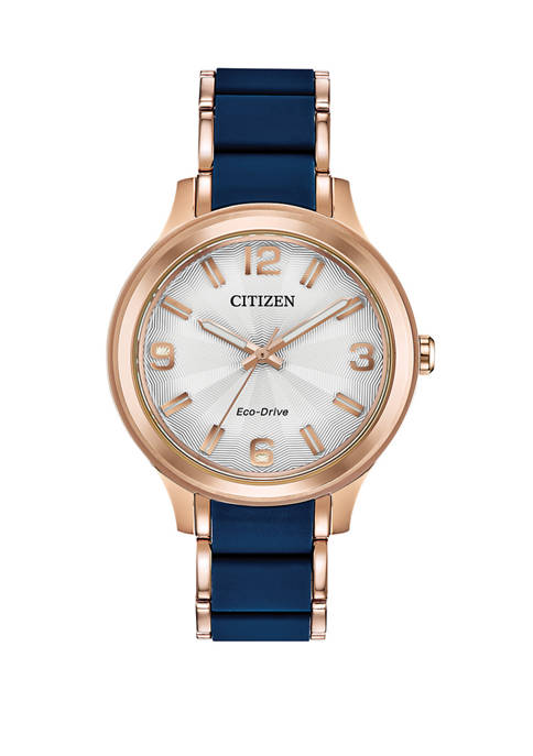 Citizen Womens Drive Two-Tone Stainless Steel Bracelet Watch