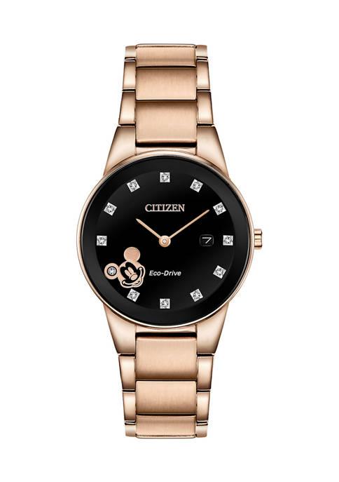Citizen Mickey Diamond Bracelet Watch