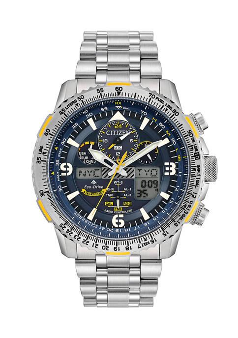 Citizen Pro Master Skyhawk AT Titanium Bracelet Watch