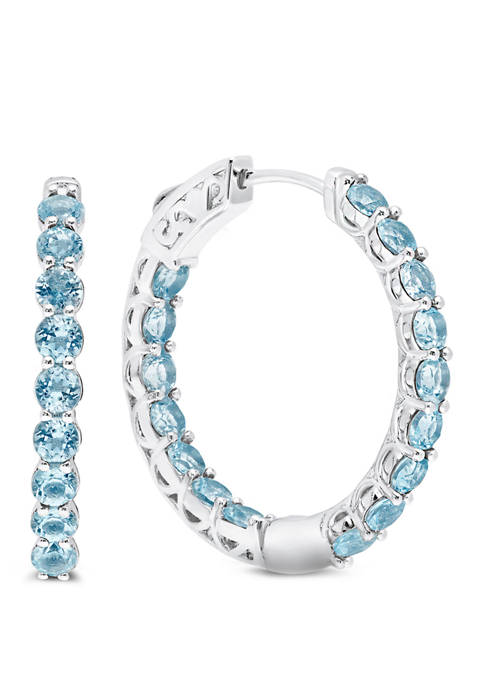Belk & Co. 4 ct. t.w. Sky Blue