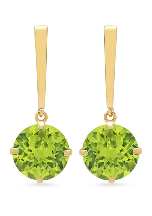 Belk & Co. Peridot Drop Earrings