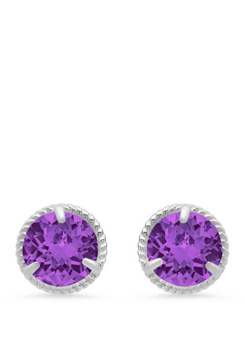 Belk & Co. 1.6 ct. t.w. Amethyst Stud