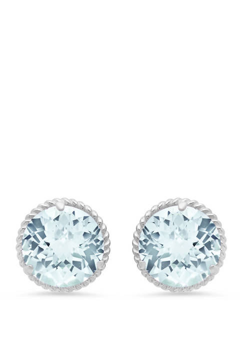 Belk & Co. 3.6 ct. t.w. Aquamarine Stud