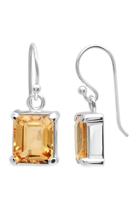 Belk & Co. 4 ct. t.w. Citrine Earrings