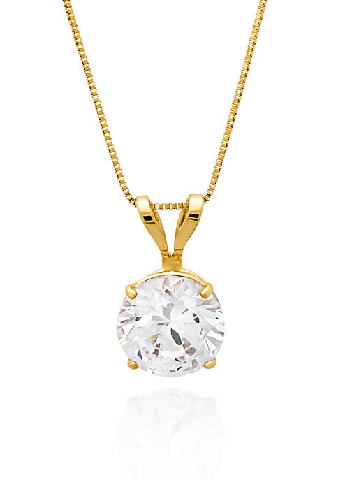 Belk & Co. 14k Yellow Gold 6mm Cubic