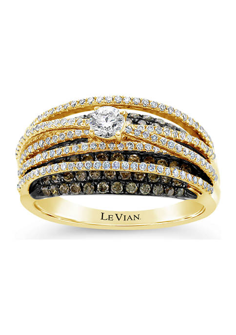 Le Vian® Chocolatier® Ring featuring 1.19 ct. t.w.