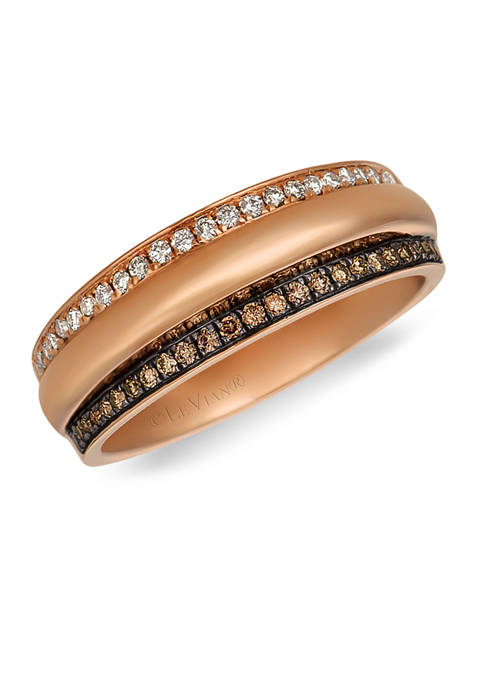 Le Vian® Chocolatier® Ring featuring 1/10 ct. t.w.