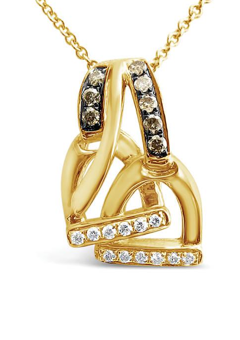 Le Vian® Chocolatier® Pendant Necklace with 1/6 ct.