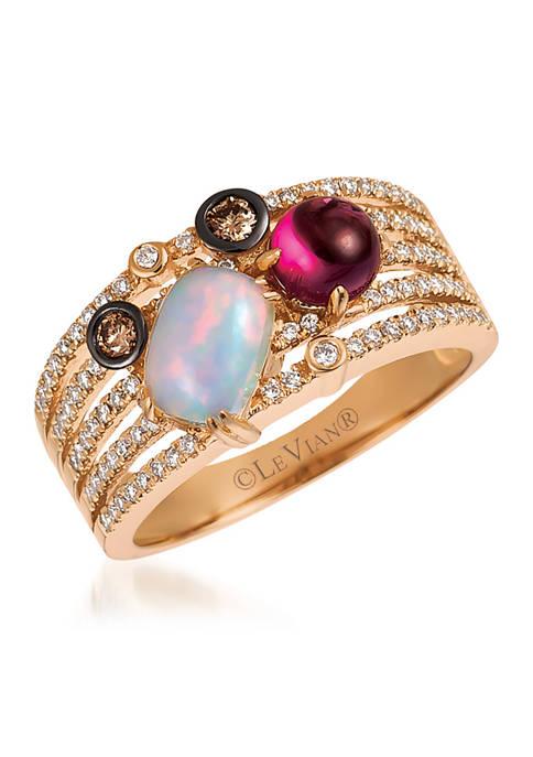 Le Vian® Chocolatier® Ring features 5/8 ct. t.w.