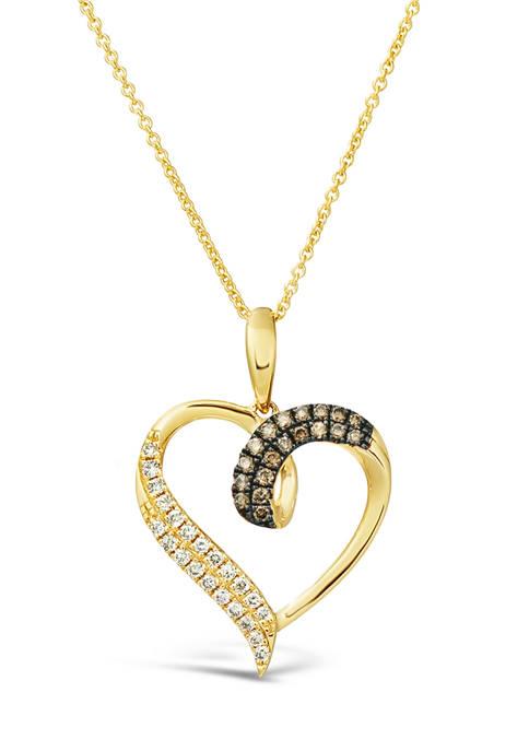 Le Vian® 1/8 ct. t.w. Chocolate Diamond® and