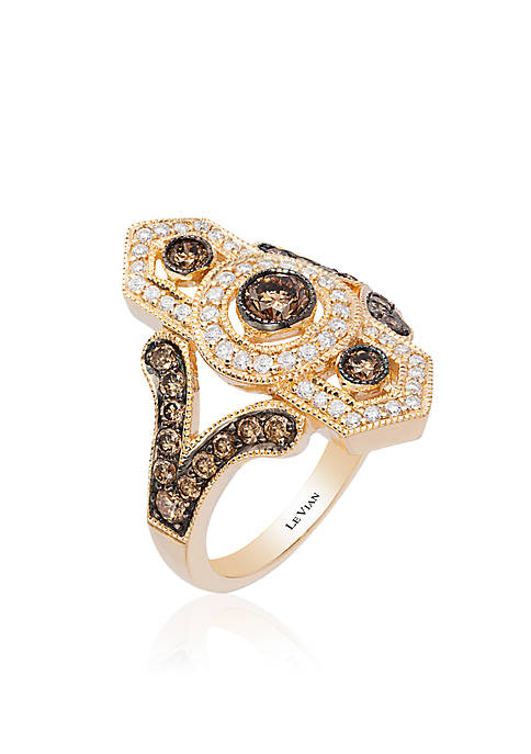 Le Vian® Chocolate Diamond® and Vanilla Diamond® Ring