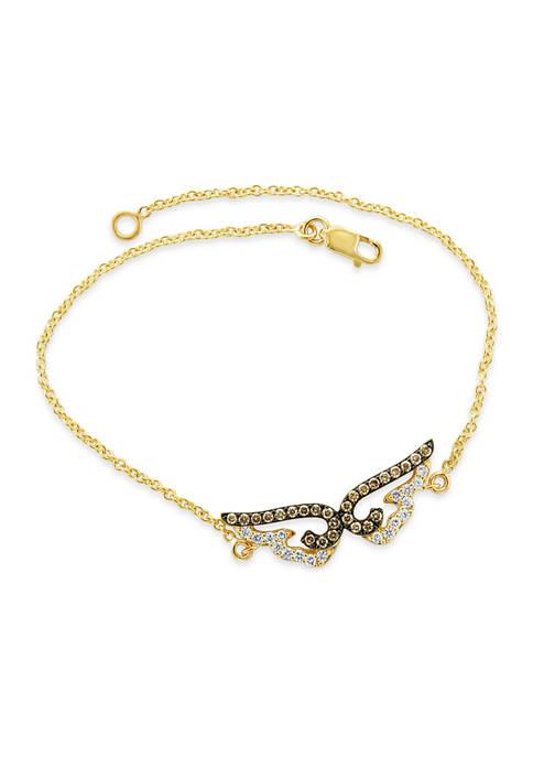 Le Vian® Chocolatier® Bracelet featuring 1/4 ct. t.w