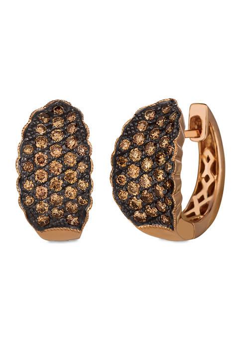 Le Vian® Chocolatier® Earrings featuring 7/8 ct. t.w.