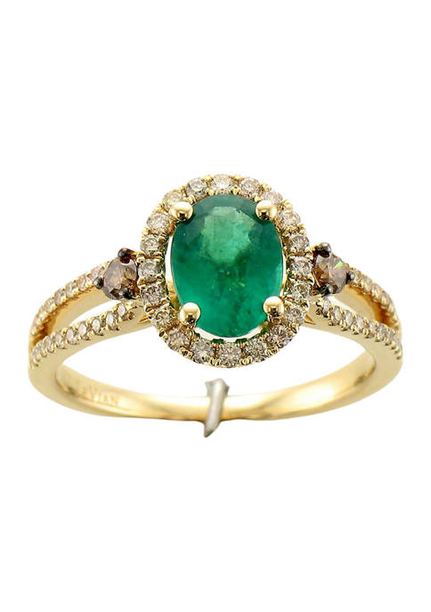 Le Vian® 7/8 ct. t.w. New Emerald, 1/10