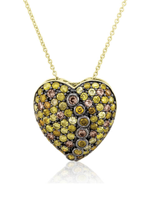 Belk & Co. Chocolatier® Pendant Necklace with 2.37