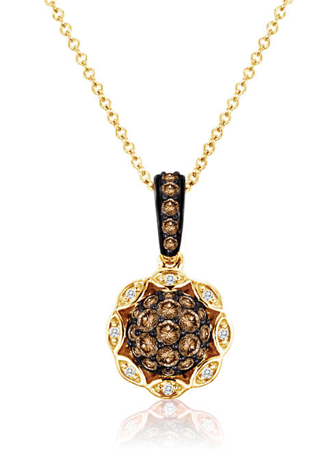 Belk & Co. Pendant Necklace with 1/2 ct.