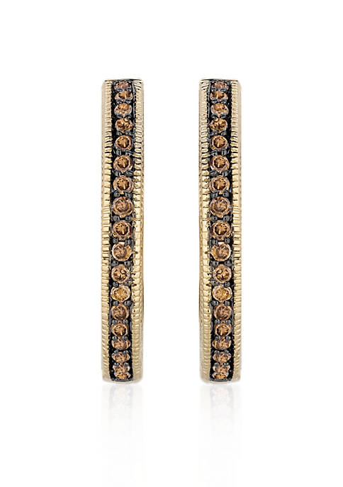 Le Vian® Chocolate Diamond® Earrings in 14k Honey