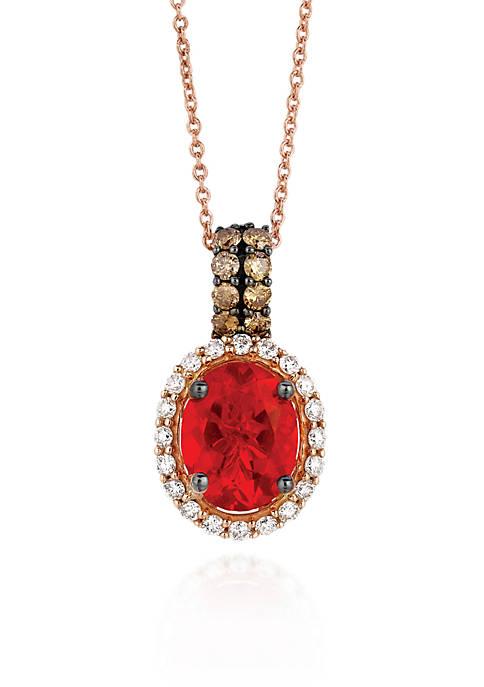 Le Vian® 14k Strawberry Gold® Neon Tangerine Fire
