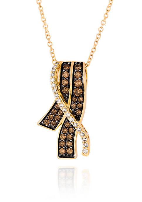 Le Vian® Chocolate Diamond® and Vanilla Diamond® Pendant