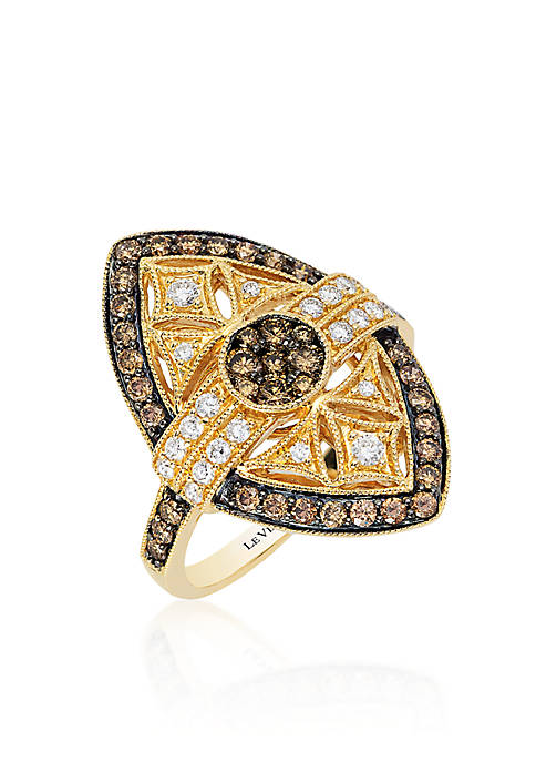 Le Vian® Chocolate Diamond® and Vanilla Diamond® Ring