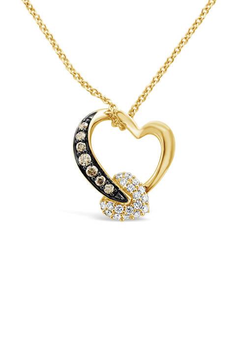 Le Vian® Chocolatier® Pendant Necklace with 1/8 ct.