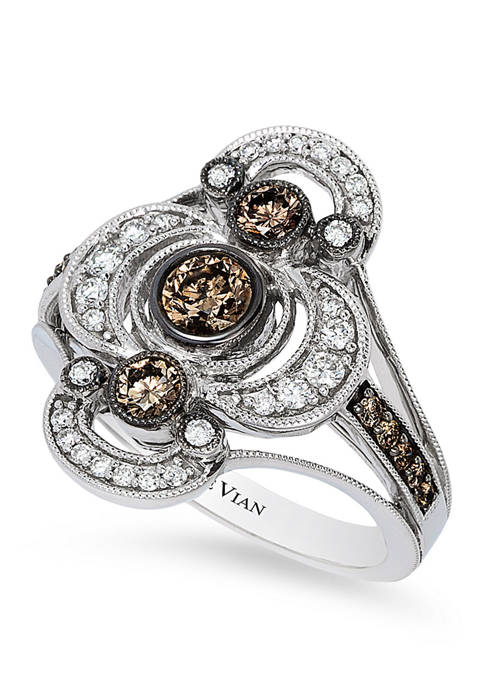 Le Vian® 5/8 ct. t.w. Chocolate Diamonds® and