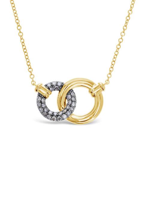 Belk & Co. Chocolatier® Pendant Necklace with 5/8