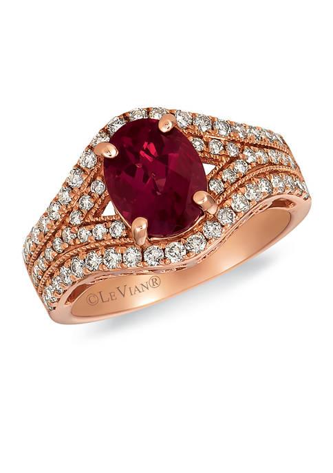 Le Vian® 1.88 ct. t.w. Raspberry Rhodolite® and