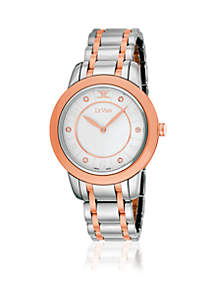 Women's Two-Tone Vanilla Diamonds® Stainless Steel Watch