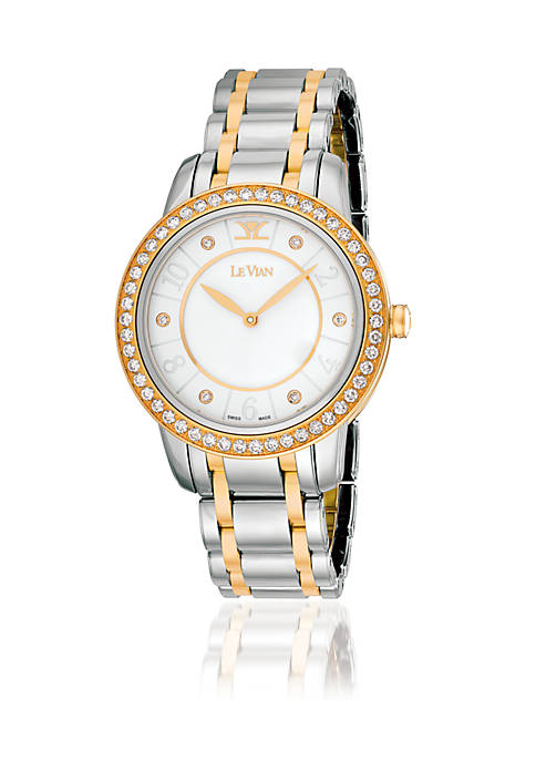 Time Hero™ Watch featuring 1.28ct Vanilla Diamonds® in Vanilla Steel™