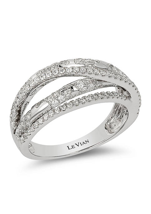 Ring featuring  7/8 ct. t.w. Vanilla Diamonds® in 14K Vanilla Gold®